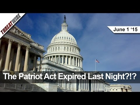 The Patriot Act Expired Last Night?!? New Google Security Tool, TSA Security Fails 67 of 70 Tests!