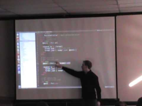 ElasticBackflip Intro to Rails -- Rails Scaffold Part 2      January 5, 2013