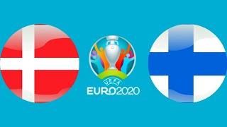 Футбол Евро 2020 Йоэль Похьянпало забил гол Дания Финляндия Чемпионат Европы по футболу 2020