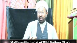 Majlis e Shahadat of Bibi Fatima (S.A): Molana Sakhawat Hussain Sandralvi 3rd Jamadi