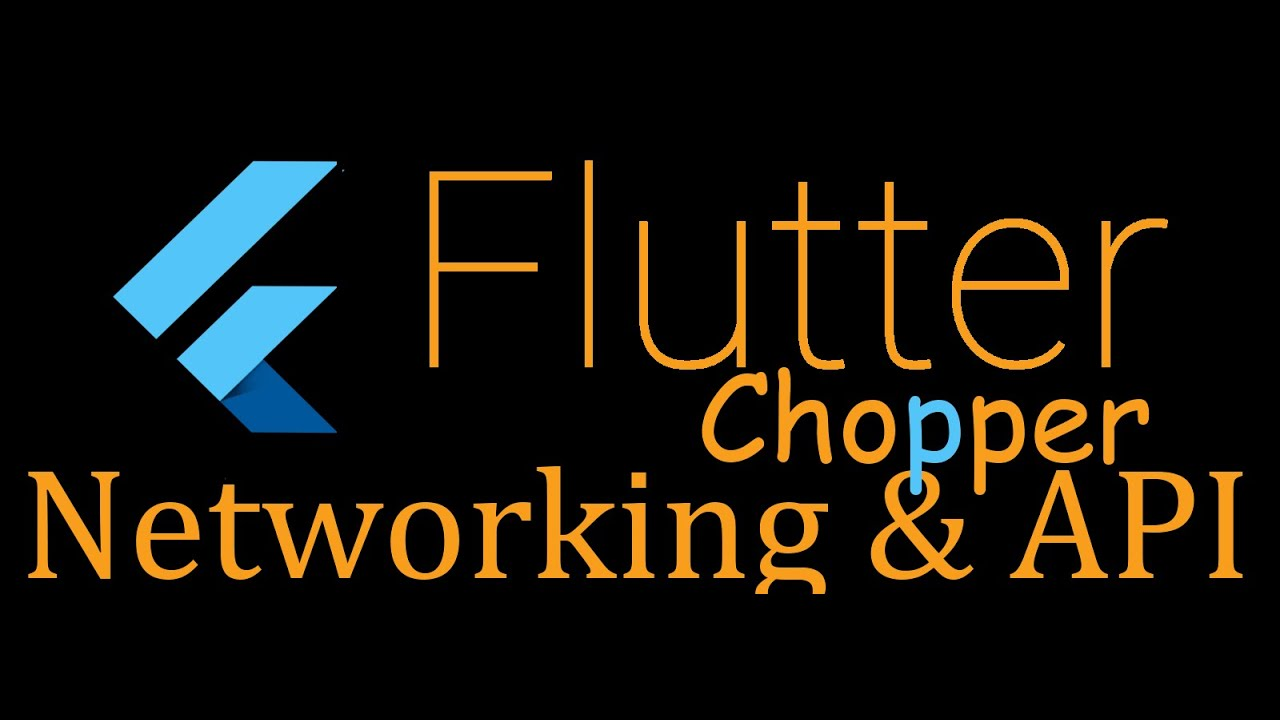 82- Flutter Networking - chopper - send data to the internet (Arabic)