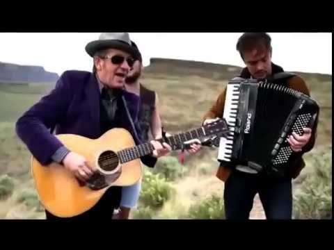 Elvis Costello & Mumford & Sons - The Ghost of Tom Joad & Do Re Mi Medley Acoustic Cover