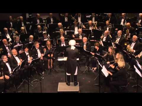 Laguna Concert Band 2011 Halloween Clip 2   Folk Song Suites