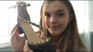 ASMR Shoe Haul ft. Dresslily ♡ (+new tingly item!)