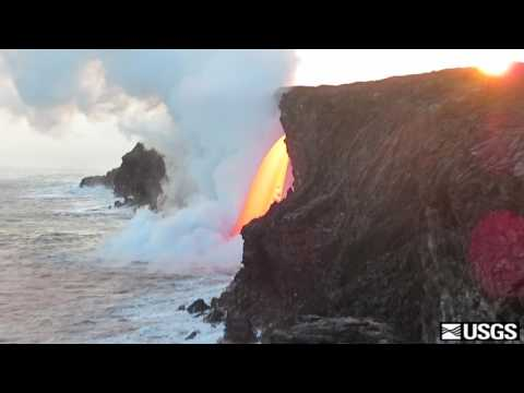USGS Footage Provides an Up-Close Look at the Kilauea Lava