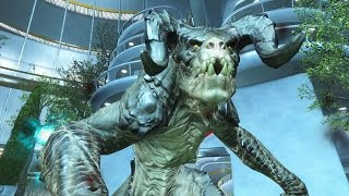 FALLOUT 4 DEATHCLAWS VS INSTITUTE