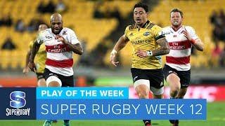 PLAY OF THE WEEK: 2018 Super Rugby Week 12