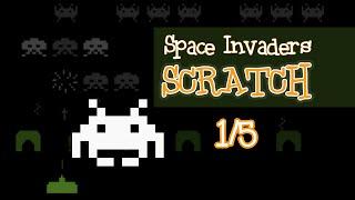 VideoJuego de Space Invaders programado con Scratch (1/5)