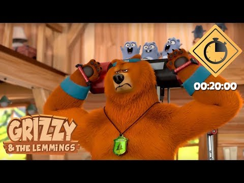 20 minutes de Grizzy & les Lemmings // Compilation #03 - Grizzy & les Lemmings