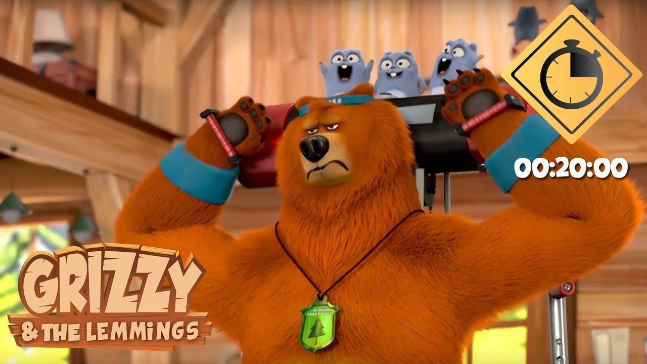 Download 20 minutes de Grizzy & les Lemmings // Compilation #03 - Grizzy & les Lemmings