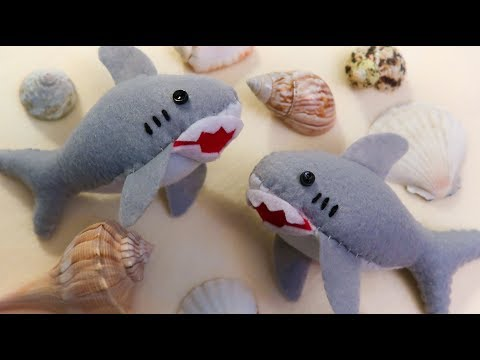 Shark Plush Tutorial 🦈🌊🌊