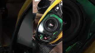 เทสเครื่องเสียงติดรถคลิก125i ดอกซับ8นิ้ว BYช่างมิ้น M&M-Sound
