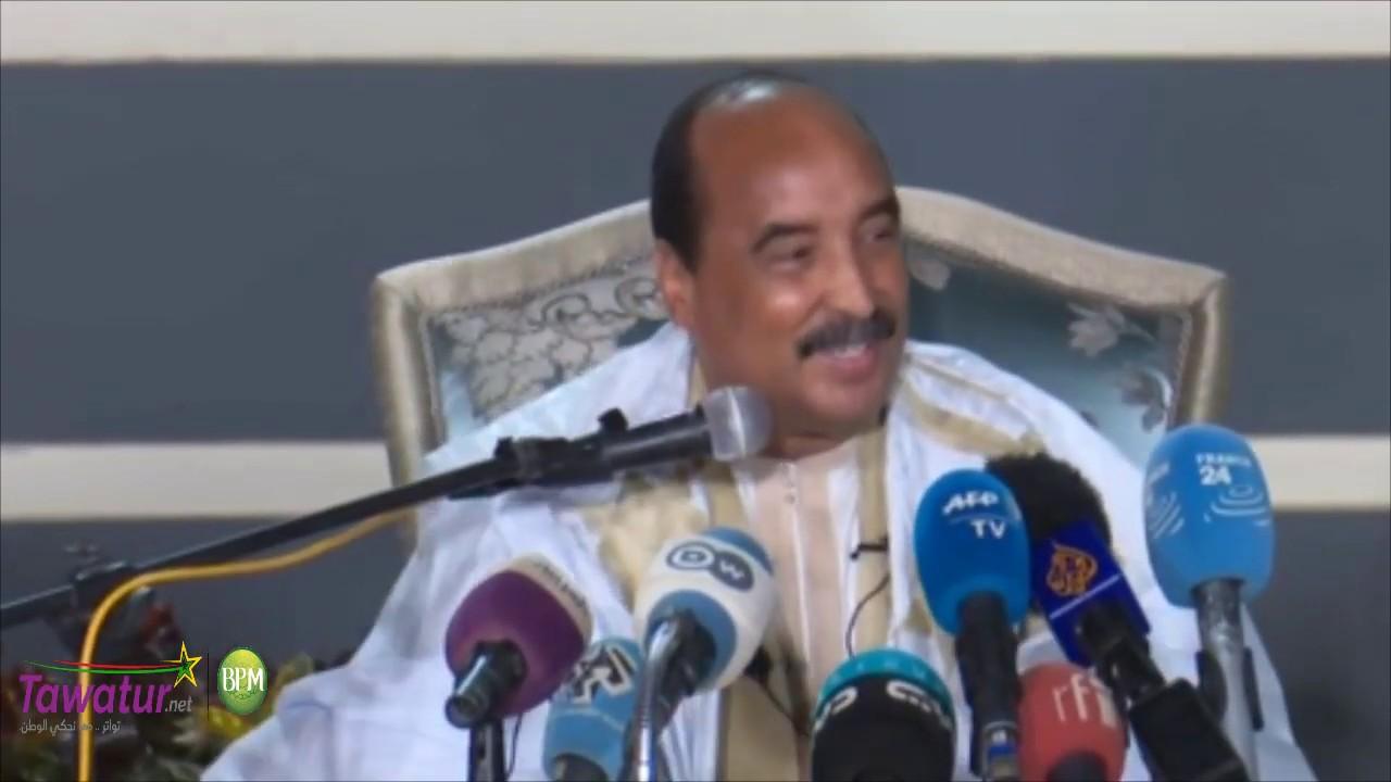 المؤتمر الصحفي للرئيس السابق محمد ولد عبد العزيز 20/12/2019 | قناة الساحل ( ما بثته القناة)