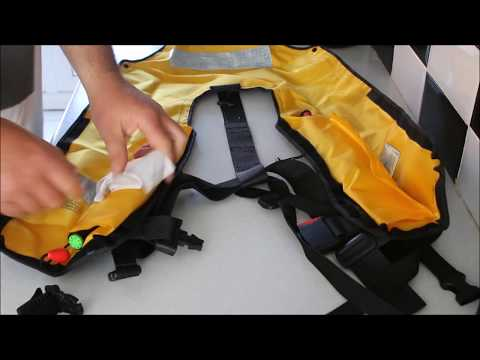 How to service a life jacket