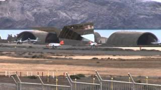 Maniobras Militares Aviones de Combate Base Aerea de Gando
