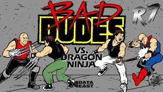 Bad Dudes Vs DragonNinja Arcade Longplay [HD 720p 60FPS]