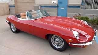 1969 Jaguar E-Type (OTS) XKE Roadster (#2460) Plymouth, MI