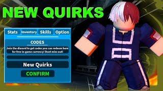 Neue Quirks ! | Boku No Roblox: Remastered | Roblox MHA Spiel