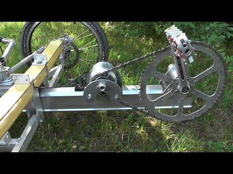 DIY Pedal Generator for Electric Bike or Trike