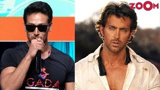 Tiger Shroff talks about his upcoming film with Hrithik Roshan | Bollywood News