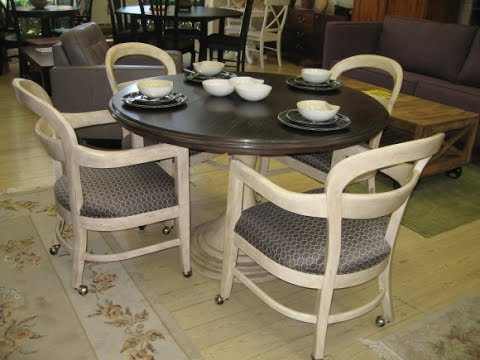 magnificent kitchen chairs with casters design ideas youtube. Black Bedroom Furniture Sets. Home Design Ideas