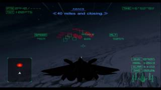 Ace Combat 04: Shattered Skies - X-02 Wyvern Gameplay HD PCSX2