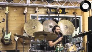 Drum Clinic Alessandro Inolti (Your Music - Rome)