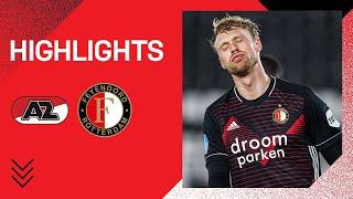 Highlights   AZ - Feyenoord   Eredivisie 2020-2021