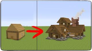 Как НУЖНО строить в майнкрафт!