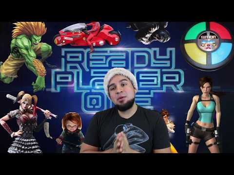 REACTING TO READY PLAYER ONE - Official Trailer 1 [HD] | READY PLAYER 1 TRAILER REACTION