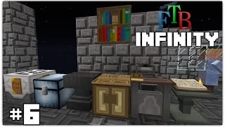 FTB Infinity #6 - I need better Tools and What's a Health Pad!