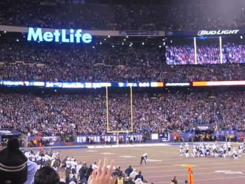 Stephen Gostkowski Game Winning Field Goal vs Giants!