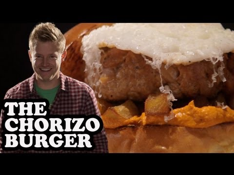 Spicy Chorizo Sausage Burger – Burger Lab