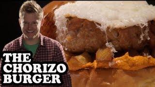 Spicy Chorizo Sausage Burger - Burger Lab