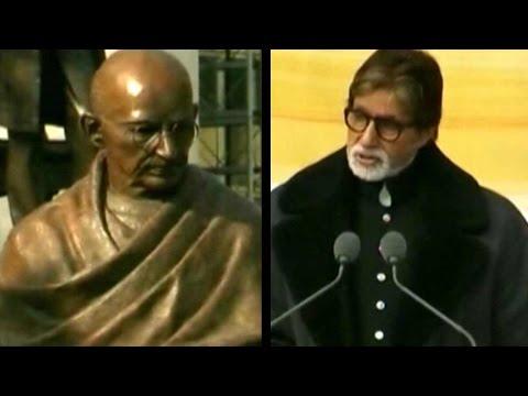 Mahatma Gandhi Statue Unveiled In London