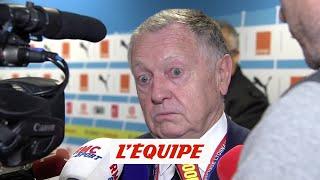 VIDEO: Aulas «Eyraud était un peu catastrophé»  L1 - Lyon