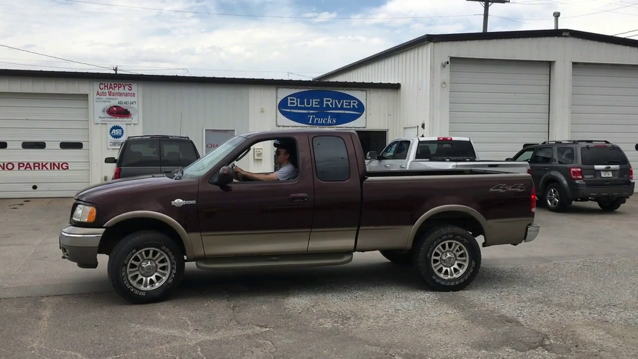 Bigiron com 2002 ford f150 extended cab king ranch 4x4 06 21 17 auction