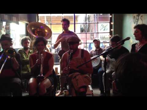 tuba skinny everybody loves my baby live at the spotted cat  new orleans jazz fest 2014