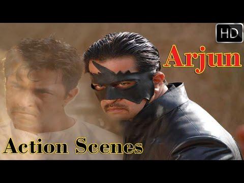 Best Action Scenes    Vayuputra Telugu Movie    Arjun    Vincent Asokan    Best Fights