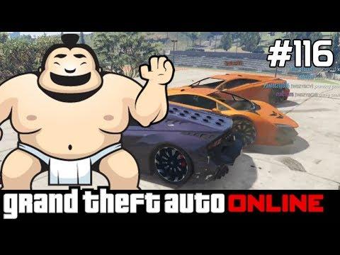 GTA 5 PC Online Po Polsku [#116] SUMO & Zrzut /LIVE