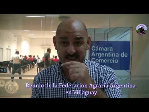Elvio Guía - Director Federación Agraria Entre Ríos