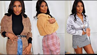 TRYING TO LOOK CUTE AFTER HAVING A BABY LOL - CLOTHING HAUL