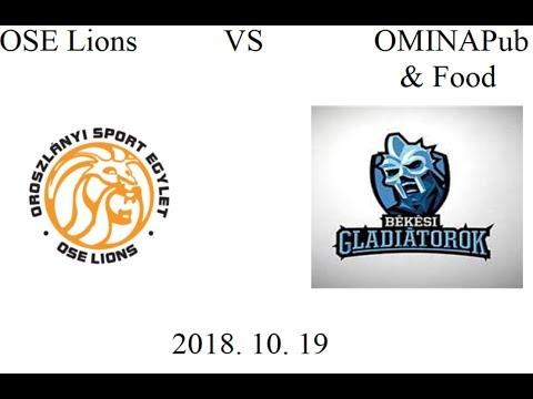 OMINA Pub & Food - OSE Lions-élő közvetítés