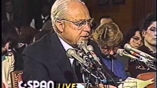 "Senate Finance Committee Hearing, ""Mastering the World Economy"" Series, January 13, 1987"