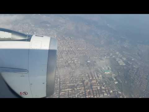 HD Take off from Turkey international airport during dense fog