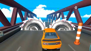 Сrazy Сars Race #3 - Deadly Car Crushing Speed Car Bumps Challenge Android Gameplay iOS