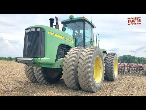 John Deere 9100 4wd Tractor & Salford 570 RTS