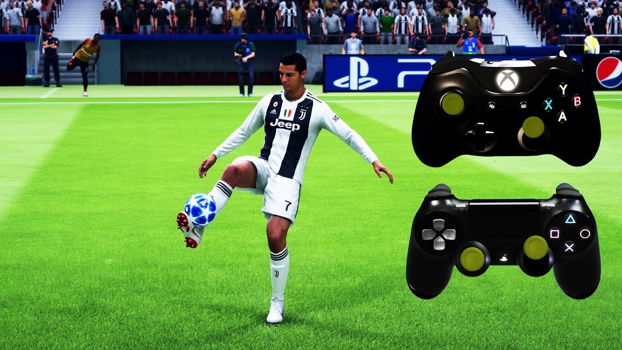 Download FIFA 19 ALL SKILLS TUTORIAL | Xbox & Playstation | 4K Ultra HD