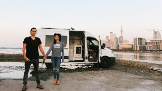 Q+A | How We Met, What our Families Think of Van Life, Why We're Vegan | Eamon & Bec