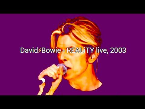 David Bowie - live @ Hammersmith Riverside, 2003